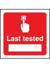 Last Tested