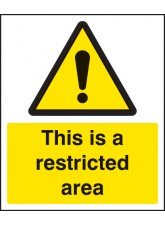 This Is a Restricted Area