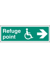 Refuge Point - Arrow Right
