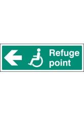 Refuge Point - Arrow Left