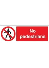 No Pedestrians