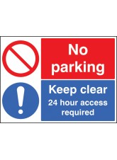 Keep Clear 24 Hour Access Required No Parking