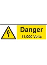 Danger 11000 Volts