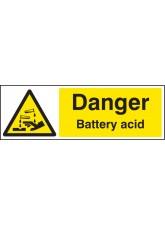 Danger Battery Acid