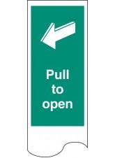 Door Plate - Pull to Open