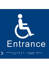 Braille - Disabled Entrance