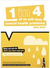 What can you do when you don't feel ok - Mental Health Poster