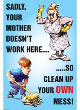 You're Mother Doesn't Work Here Poster
