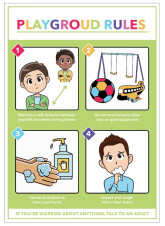 Playground Rules Poster